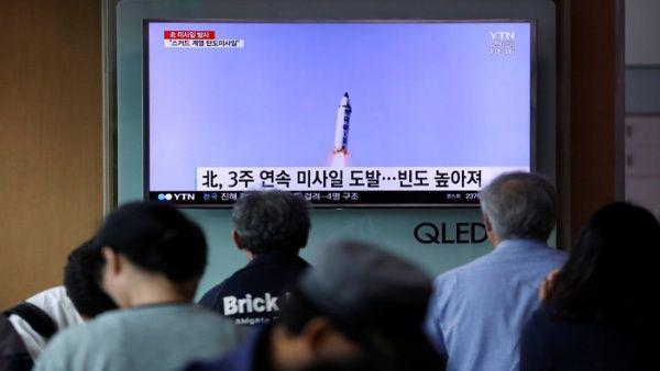 Como se acostumbra, la televisión surcoreana informó sobre el lanzamiento.