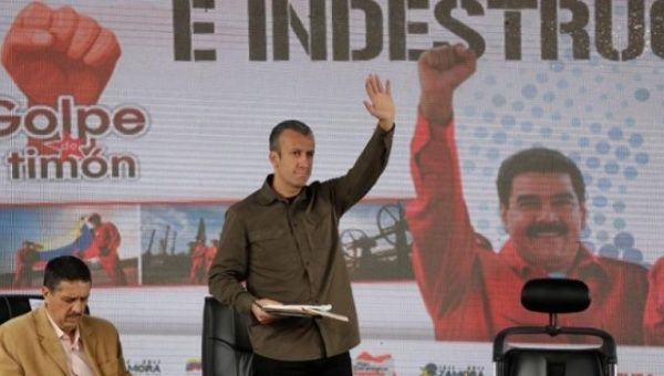 Vice President El Aissami announced a lawsuit against opposition leader Julio Borges for attempting to interfere with foreign investment in Venezuela.