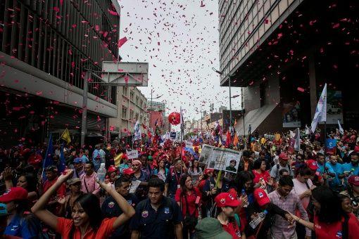 Para el líder socialista Darío Vivas, se siente la presencia del pueblo venezolano con alegría y entusiasmo en medio de la convocatoria a Constituyente. .