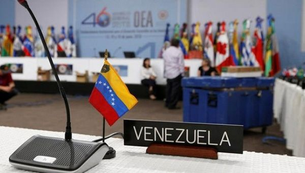 The OAS annual meeting is set to be held from June 19-21.