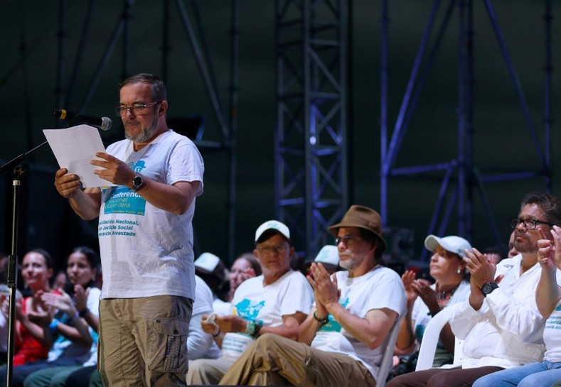 """Today is not the end of the FARC, it"