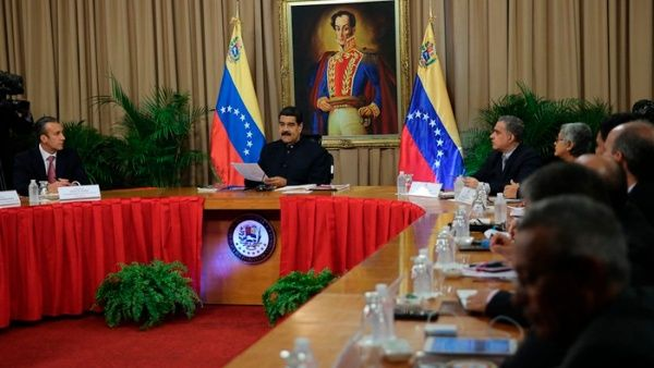 Maduro rechazó las declaraciones de los presidentes de Brasil y Colombia en contra Venezuela.
