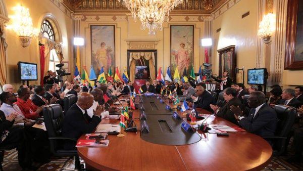 Las naciones que integran la organización internacional se unieron en solidaridad con Venezuela.