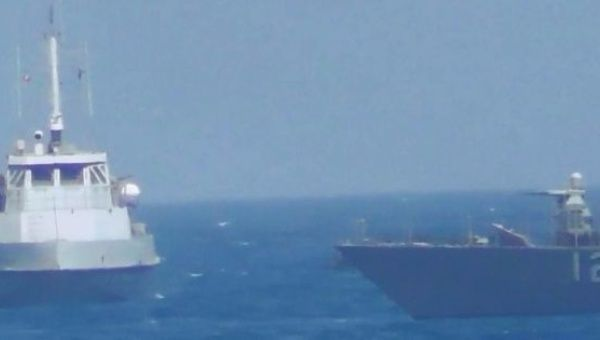This latest agitation came three days after a U.S. Navy patrol boat fired warning shots near another Iranian vessel. FILE