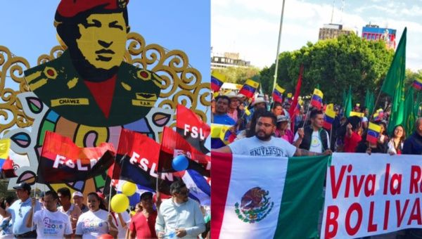 Social movements across Mexico and Central America are among those across the world expressing solidarity with Venezuela