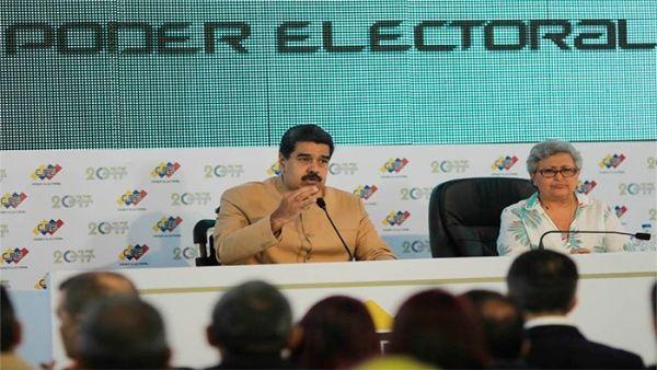 El mandatario aseveró que seguirá defendiendo los derechos de Venezuela y sus recursos naturales.