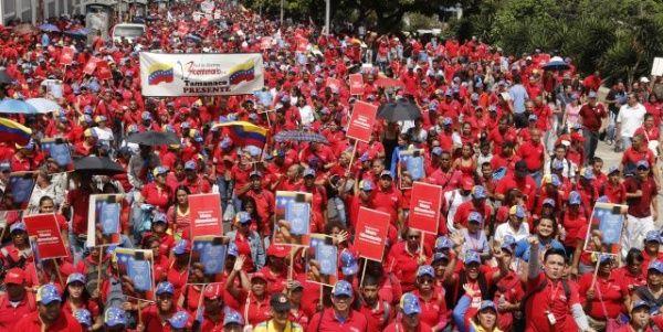 La movilización partirá a las 09H00 hora local hasta el Palacio Legislativo de Venezuela.