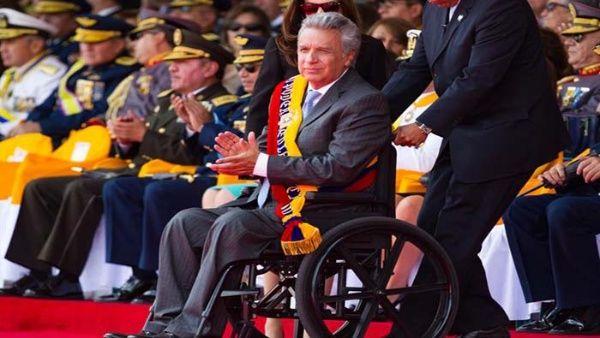 Moreno manifestó su rechazo a una intervención militar por parte de Estados Unidos.
