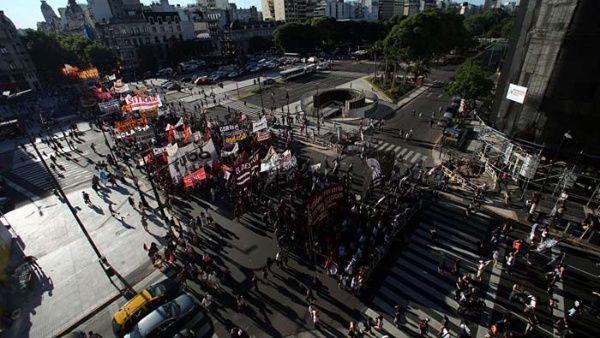 Es la segunda concentración de la CGT contra las políticas económicas de Macri.