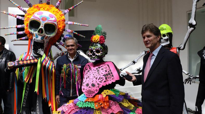 El desfile de Día de Muertos que realiza el Gobierno de la Ciudad de México, este año será el próximo 28 de octubre.