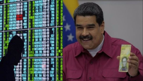 "The president announced that it would allow Venezuela to ""advance in issues of monetary sovereignty, to make financial transactions and overcome the financial blockade."""