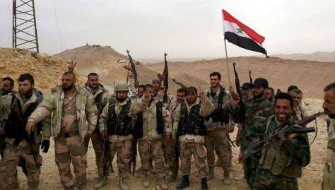 Fuerzas sirias retoman el control de zonas que se encontraban bajo el dominio del Daesh