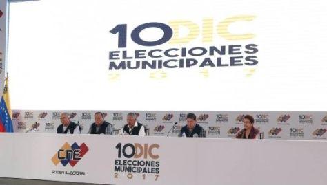 Los acompañantes dieron garantías de que fue respetado el proceso electoral.