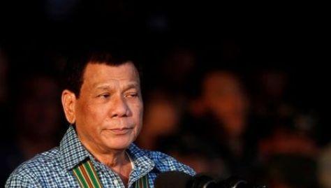 La guerra antidroga forma parte de la promesa electoral de Duterte.