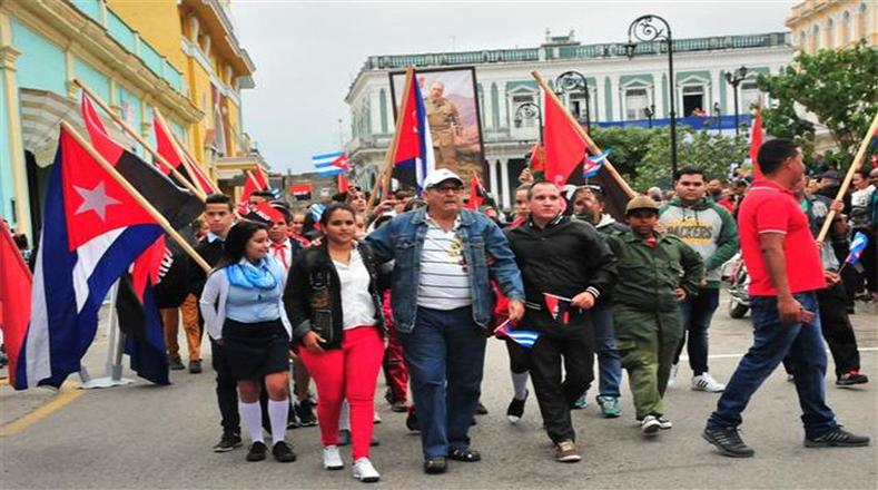 La Caravana de la Libertad fue una ruta de más de mil kilómetros por el Ejército Rebelde después del Triunfo de la Revolución.