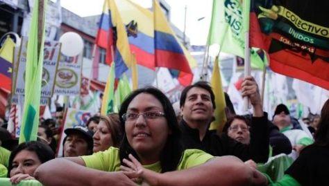 A la consulta popular están convocados más de 13 millones de ecuatorianos.