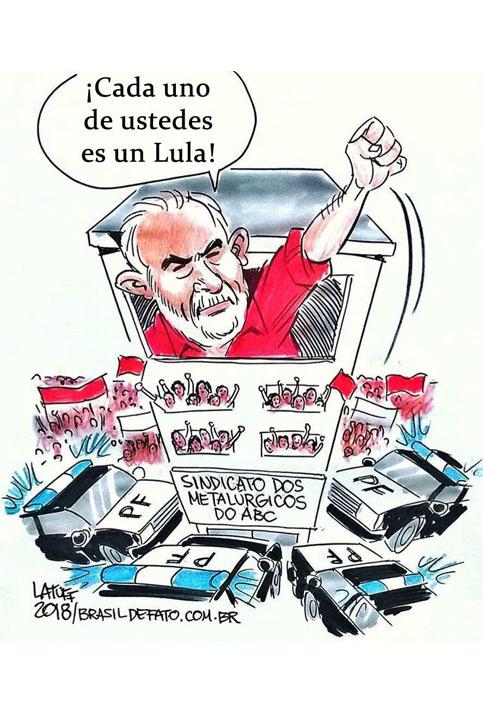"""""""Lula dijo que iba a cumplir este mandato de prisión, él tomó esa decisión y es un gran líder, él nos pidió ser su voz, que seamos millones de Lulas"""", aseguró la presidenta del PT."""