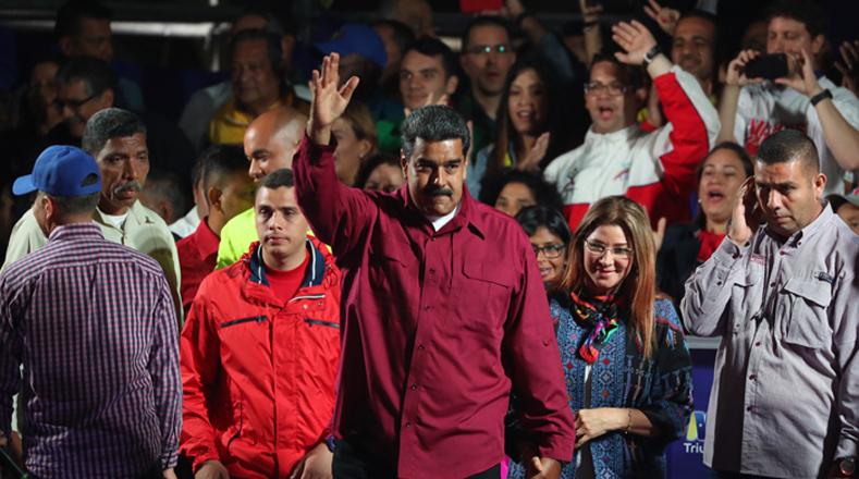 """El mandatario señaló que es y será el presidente de todos y cada uno de los venezolanos. """"Sepan que todos cuentan conmigo"""" añadió."""