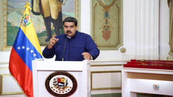 Los detenidos en flagrancia intentaban revertir el proceso de recuperación, informóel presidente venezolano.