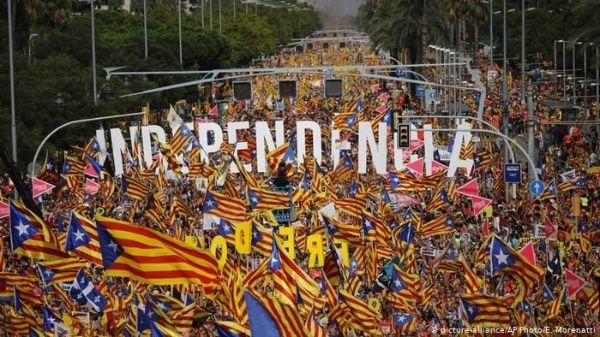Resultado de imagen para cataluna independentistas dw