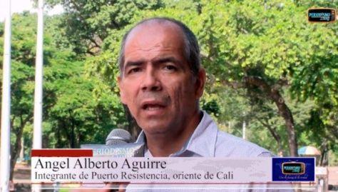 Habla Ángel Alberto Aguirre.Puerto resistencia, una experiencia de organización popular en Cali