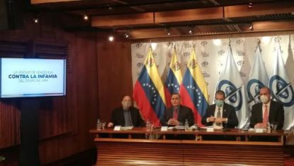 El informe seá presentado este miércoles al presidente Nicolás Maduro, y el jueves al secretario general de la ONU, António Guterres.