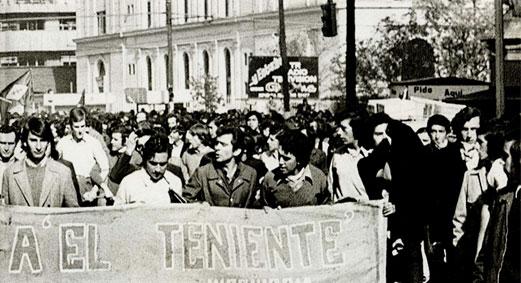 Huelga del cobre Chile 1973