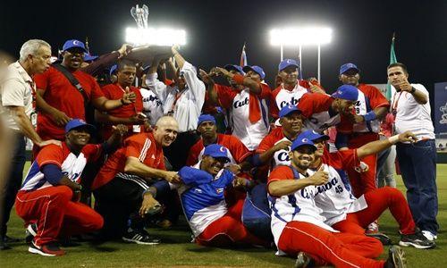 Equipo Cuba, campeón en Serie del Caribe 2015