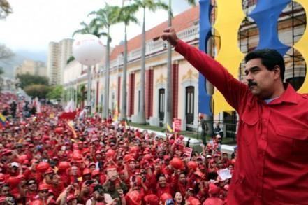 Pueblo venezolano apoya al presidente Nicolás Maduro