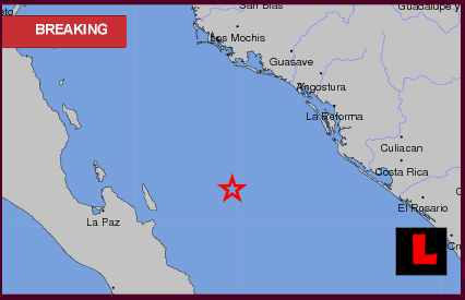 Mexico Earthquake Today 2012, Terremoto Erupts in Baja California