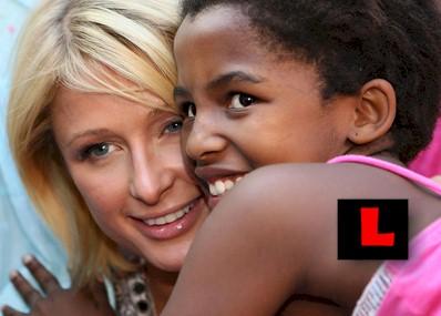 Paris Hilton Jakaranda children's home in Pretoria South Africa