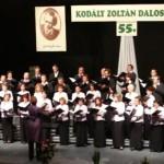A Kodály Zoltán Daloskör fennállásának 55. évfordulóját ünnepelte