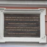 Petőfi-emléktábla-Pozsonyban
