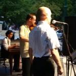 Csallóközi csárdások a Figur banda előadásában a 2011-es somorjai Pomlé Fesztiválon.