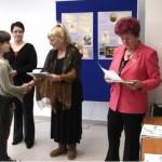 A vers- és prózamondó verseny díjátadója Pozsonypüspökin