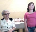Anyák napi műsor Tamás Ilonka néninek