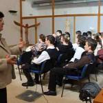 Szanyi Mária néprajzkutató és pedagógus előadása