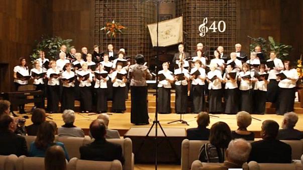 A Somorjai Híd Vegyes Kar jubileumi koncertje