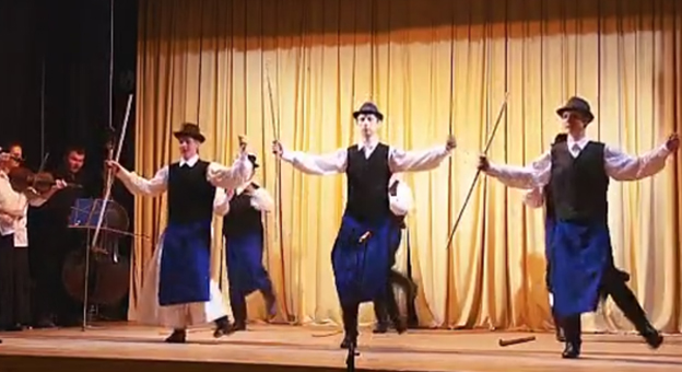 Ógyallai Bellő-Konkoly-Thege Néptáncegyüttes - Gömöri táncok