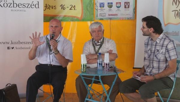 Surján László és František Mikloško