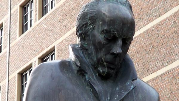 Bartók Béla szobra Brüsszelben