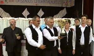 A 16. Országos Citeratalálkozó díjkiosztója