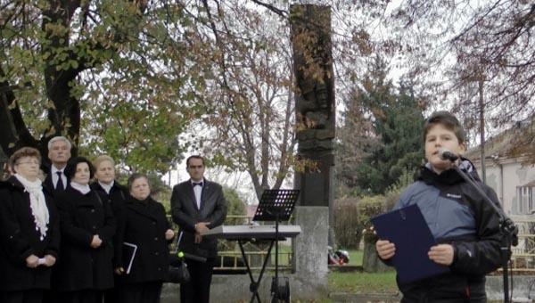 Megemlékezés az Ung-vidéki elhurcoltakról Nagykaposon