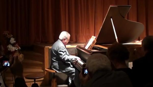 Zongoraavató koncert Léva - Hováth József