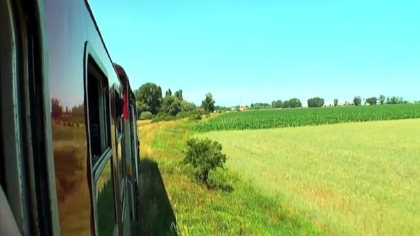 Vágsellye-Vágfarkasd-Vágsellye vonaton
