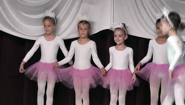 Haraszti Balett Évzáró 2013 - Hercegnők tánca