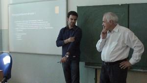Tanár és tanítványa - Dr. Hatvani István Gábor - Dr. Kovács József