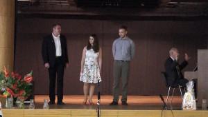 Ünnepi műsor a pozsonypüspöki iskolák 65. évfordulóján