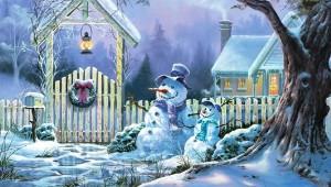 Snowman-Christmas-Snow