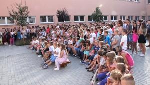 Tanévnyitó a Szenczi Molnár Albert Alapiskolában